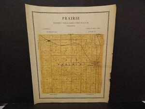 Iowa Mahaska County Map Prairie Township  1913  Y12#33