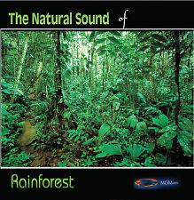 NATURE SOUNDS - RAINFOREST- new age - CD