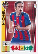 N°174 MICHEL # ESPANA LEVANTE.UD CARD PANINI ADRENALYN LIGA 2013