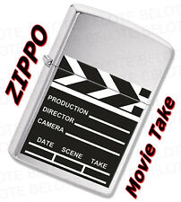 Zippo Movie Take Brushed Chrome Windproof Lighter 28064