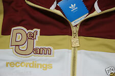 Adidas Originals  Def Jam Recordings Style E73190  Track Top M  Adidas Originals