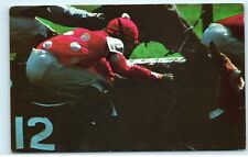 Aqueduct Belmont Park Jockey #12 Thoroughbred Racing Saratoga NY Postcard B09