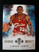 F41 2014-15 Panini Court Kings LeBron James Rookie Royalty Insert #16 Cavs