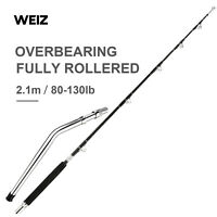 Weiz Custom Fully Rollered 6'5 80-130LB Big Game Tuna Boat Fishing Rod