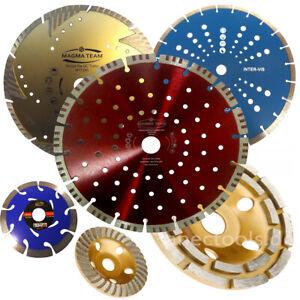 Diamantscheibe Trennscheibe Ø115 125 180 230 350 DIAMANTTRENSCHEIBE DIAMANTTOPF