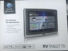 "Closeout Rand Mcnally RV Tablet 70 with GPS 7"" Backup Camera Ready New In Box"