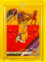 Clearly Donruss LeBron James LA Lakers Jersey Spectacular Rare Acetate SP 🔥