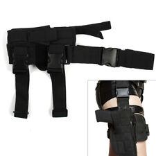 Tactical Wrap-around Thigh Leg Pistol Gun Holster Pouch Waterproof Adjustable