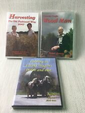 Farming Related DVD Bundle x 3 Special Interest Harvesting Wood Man Wagons W968
