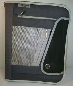 Pro Platinum MEAD Trapper Keeper Black and Gray book