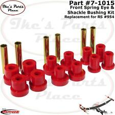 Prothane 7-1015 Front Leaf Spring&Shackle Bushing-Repl Rancho Susp 4WD #RS954