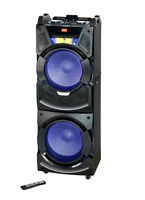 Edison Professional Party System 350 BLUETOOTH WIRELESS SPEAKER SYSTEM LED DISP