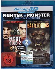 BATTLEDOGS / FIGHT CLUB 2 (FIGHT COMPANY) - 3D & 2D Blu Ray Disc -