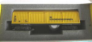 T381 Lux Modellbau 9010 Schienenschleifwagen mit Originalkarton