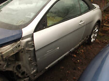 BMW E64 / E63 6 SERIES PASSENGER SIDE DOOR SILVER N/S - BARE NEEDS ATTENTION