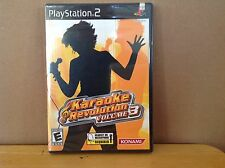 Karaoke Revolution Volume 3 - PlayStation 2 PS2 - Brand New/Sealed