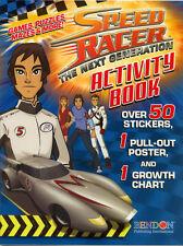 Speed Racer Next Gen coloring book RARE UNUSED
