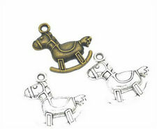 Wholesale 8pcs Tibet silver Trojan Necklace Charm Pendant beads Jewelry Making