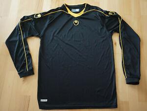 Uhlsport Longshirt Sportshirt Triko, schwarz, Gr. M 48/50