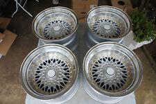"JDM RS Style 15"" 114.3 100x4 wheels ae86 datsun Z31 miata mx5 eg6 bbs LM mesh"