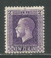 New Zealand 1915-22 King George V 2p purple (146) MH