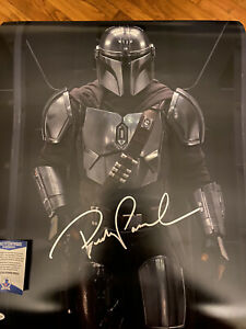 Pedro Pascal Star Wars Original Hand Signed Autographed poster with COA