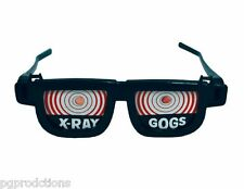 X RAY GOGS GLASSES See Thru Bones in Hand Illusion Funny Goggles Trick Joke Gag