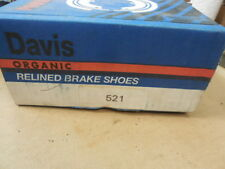 84 Olds Ciera Rear Drum Brake Shoe Set B-521 BP-21
