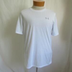 Under Armour Threadborne White Heatgear T-Shirt Men's S