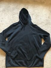 EUC Women's Black NIKE THERMAFIT Hoodie Size Medium THUMB HOLES