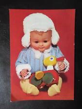AK DDR Puppe Spielzeug um 1976 ungelaufen