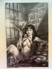 Vampirella #11 2020 1:50 Parrillo B&W Virgin Variant Dynamite Comics - Auction 2