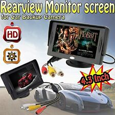 NEW 4.3 Inch LCD TFT Rearview Monitor screen for Car Backup Camera