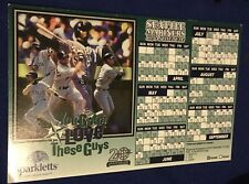 Seattle Mariners 1997 Ken Griffey Magnet Fridge Schedule Opening Day Give Away