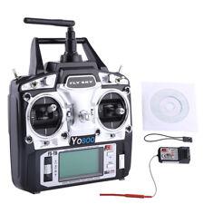 Flysky FS-T6 Radio Control 2.4 GHz 6 Kanäle RC Sender Fernsteuerung+Empfänger MK