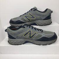 NEW BALANCE 510 Mens ALL TERRAIN Trail Running Athletic Size 10.5 Blue Grey