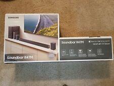 Samsung HW-R47M 4.1 Channel 240W Soundbar System with Wireless Subwoofer