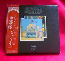 Led Zeppelin The Song Remains The Same 2 SHM MINI LP CD JAPAN WPCR-13138-39