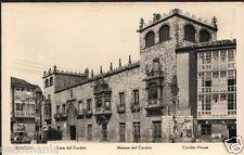 ANTIGUA POSTAL BURGOS CASA DEL CORDON OLD POSTCARD POSTKARTE             CC00702