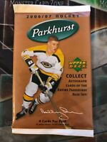 2006-07 PARKHURST Hockey Factory Sealed BOOSTER Pack | 1 PACK | RARE