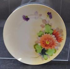 """Vintage Meito China Hand Painted Bread Dessert Plate Made In Japan 6 3/8"""" GD15"""