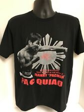MANNY PACQUIAO Pound For Pound Best Boxer In The World Shirt Pac Man LARGE