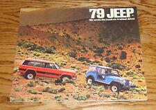 Original 1979 Jeep Full Line Deluxe Sales Brochure 79 CJ-5 CJ-7 Cherokee