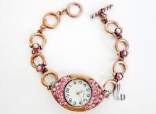 AU SELLER Sparkling Made with Swarovski Crystal Vintage Bracelet Watch w152