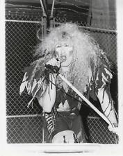 TWISTED SISTER-ORIGINAL PHOTO-CANDID-DEE SNIDER-MIKE-STEVE GRANITZ STAMPED