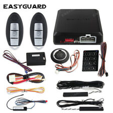 Easyguard pke car alarm security remote starter kit keyless go push button start