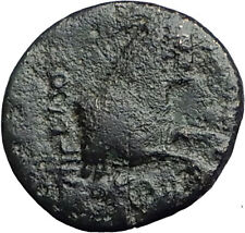 Kolophon Colophon IONIA 360BC Authentic Ancient Greek Coin APOLLO & HORSE i63166