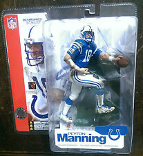 MCFARLANE PEYTON MANNING NFL 4 INDIANAPOLIS COLTS BLUE VARIANT CHASE ROOKIE !!!!