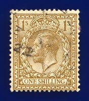 1913 SG396 1s Bistre-Brown N32(7) Good Used CV-FU £4 ceby