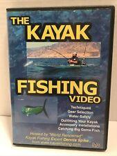 The Kayak Fishing Video Dvd Catching Big Game Fish